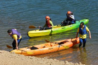 Descenso de canoas