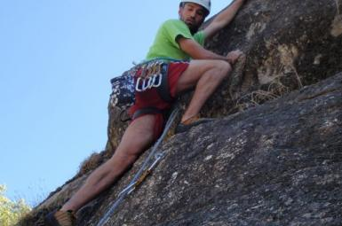Escalada y rápel Extremadura